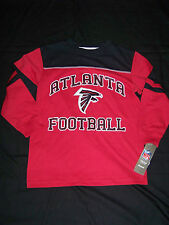 Reebok Youth Atlanta Falcons Long Sleeve Shirt NWT