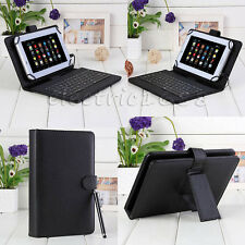 "Universal USB Micro Keyboard Leather Case Cover Stand For 7""-8"" Tablet PC Stylus"