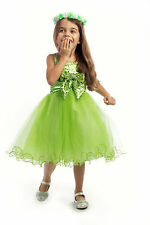 Sequin Flower Girl Dress Wedding Bridesmaid Pageant Birthday Party