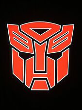Autobots LED Sound Activated LIGHTS UP LED T-Shirt ALL SIZES Wireless