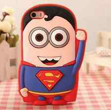 Cute SUPERMAN Despicable Me Minion Soft Silicone iPhone/iPod Touch Case Cover