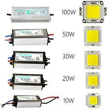 10W 20W 30W 50W 100W Led Chip , Led Driver , Bulb Lamp For Outdoor Flood Lights