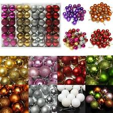 Multi-Types Christmas Balls Baubles Xmas Tree Hanging Ornament Christmas Decor