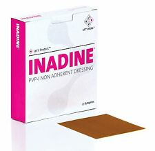 Inadine 5cm x 5cm Iodine Dressings | Choose your own quantity | Best Value