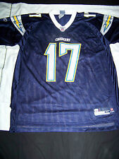 Reebok Men's San Diego Chargers #17 Philip Rivers Jersey NWT