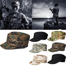 Army Military Jungle Sun Bush Hat Cap Surplus Combat Camo Sun Cap Baseball Hat