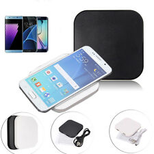 Qi Charger Wireless Charging Pad For Samsung Galaxy S7 Edge S6 Note 4 iPhone 6 7
