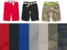 Epic Threads Boys Cargo Shorts Belted cotton size 8 10 12 14 16 18 20 NEW