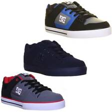 DC Skate Shoes Pure Mens Lace Up Trainers Padded Tongue