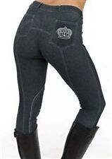 NEW  TAG SHERWOOD FOREST BRAMBLE DENIM LOOK LADIES JODHPURS/BREECHES ALL SIZES