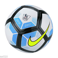 NEW Nike Pitch 2016/17 Premier League Football Ball - White & Blue - Size 3 4 5