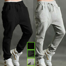 New Mens Teens Sports Harem Baggy Hip Hop Sweatpants Tracksuit Bottoms Trousers