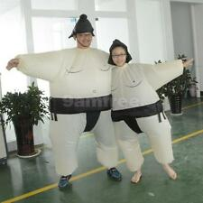 Sumo Fancy Dress Fan Inflatable Costume Suit with Hat Adult/Kids