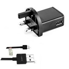 Original EP800UK Micro USB Home Wall Charger For Sony Xperia L M Play X10 Z3 Z2