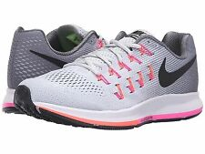 NIKE AIR ZOOM PEGASUS 33 PINK D WIDE WOMENS RUNNING SHOES **FREE POST AUSTRALIA