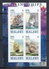 X280 Mint NH 2013 Imperf Souvenir Sheet of 4 Diff. Early Boats Ships Sailboats