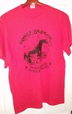 "NEW w/out tags Honey Badger w/ Cobra ""Want Not Waste Not"" funny t shirt"