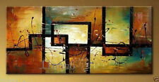 2016 HOT Modern Abstract Hand-Painted Art Oil Painting Wall Decor on canvas 48""