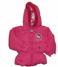 HELLO KITTY SANRIO Faux-Fur Winter Coat Puffer Jacket NWT Toddlers Size 3T  $70