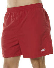 New Zoggs Men's Penrith Shorts Mesh Mens Fitness Sport Red