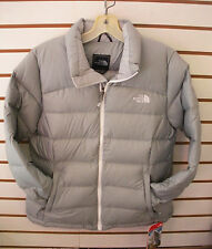 THE NORTH FACE WOMENS NUPTSE 2 DOWN WINTER JACKET-CUQ5- H RISE GREY - M,L,XL