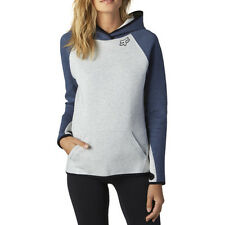 Fox Racing Persuade Womens Hoody - Light Heather Grey All Sizes