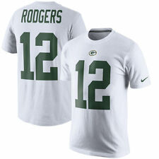 Limited Edition Nike NFL Color Rush Green Bay Packers Aaron Rodgers #12 Shirt