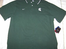 Nike Men's Michigan State Spartans Polo Shirt NWT