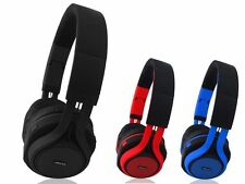 AXESS HPBT619 Wireless Bluetooth Over-Ear Headphones for Smartphones W/ Colors