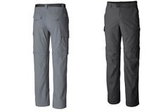 "NEW Columbia men's silver ridge convertible pants, Inseam 32"", ALL SIZES"