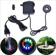12LED Submersible Water pump lights for Aquarium Fountain Fish Tank 220-240V EU