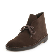 Mens Clarks Desert Boot4 Brown Suede Lace Up Smart Ankle Boots Size 6-12