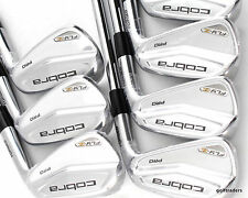 COBRA FLY-Z PRO COMBO FORGED IRONS 4-PW KBS TOUR 120 STIFF - NEW #C6293