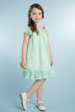 New Chiffon Flower Girls Dress Easter Christmas Party Graduation Pageant 204