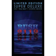 RUSH - 2112 (LIMITED EDITION-SUPER DELUXE)  CD+BLU-RAY+COMIC BOOK  NEW!