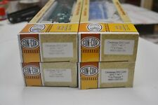 Lot of 4 HO Scale Christmas Boxcars.  Con-Cor 2012, 2013, 2014, 2015.  All New