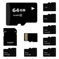 Lot Micro SD Card 32/16/8/4/2GB TF Flash Memory Card With Adapter Class 4-10 DF