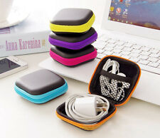 Mini Key Headset Coin Money Zip-Around Storage Bag Wallet Purse Gift package box
