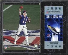 Phil Simms New York Giants Super Bowl XXI Sublimated 12x15 Plaque Item#472368