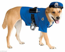Police Officer Cop Pet Halloween Costume Dog Animal Clothing Accessory NEW