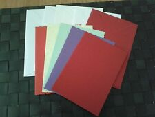 Assorted blank coloured cards 4