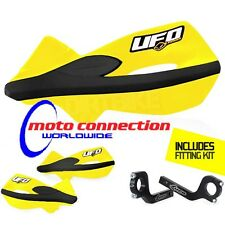 UFO Patrol handguards Yellow - SUZUKI DRZ400  DRZ 400 All years FREE P&P