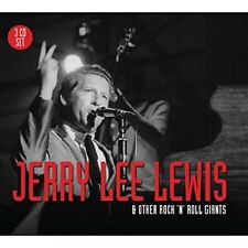 JERRY LEE LEWIS & OTHER ROCK'N'ROLL GIANTS - FATS DOMINO, BUDDY HOLLY 3 CD NEW!