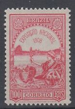 BRAZIL 1908 NATIONAL EXHIBITION MINT (ID:751/D41976)