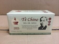 60 BABS*4 BOXES TE CHINO del DR MING, colageina10, cre-c,renuee, pina,bacticure