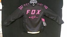 New Fox YOUTH Girls Black & Pink 180 Jersey - Small Med Large X-Large 17275-285