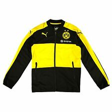 Puma Childrens Kids Football BVB Borussia Dortmund Training Poly Track Jacket