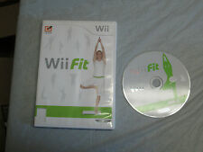 Wii Fit (Nintendo Wii, 2008)( game only) with box 2