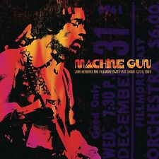 JIMI HENDRIX-MACHINE GUN JIMI HENDRIX THE FILLMORE EAST 12/31/1  2 VINYL LP NEW!