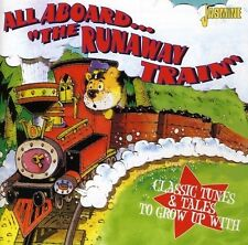 ALL ABOARD THE RUNAWAY TRAIN-CLASSIC TUNES & TALES - PERRY COMO - CD NEW!